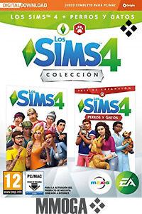 Los-Sims-4-Plus-Perros-y-gatos-bundle-juego-expansion-PC-MAC-EA-Origin