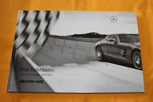 AMG-Peak-Performance-Driving-Academy-2010-2011-Prospekt-Brochure-Catalogue