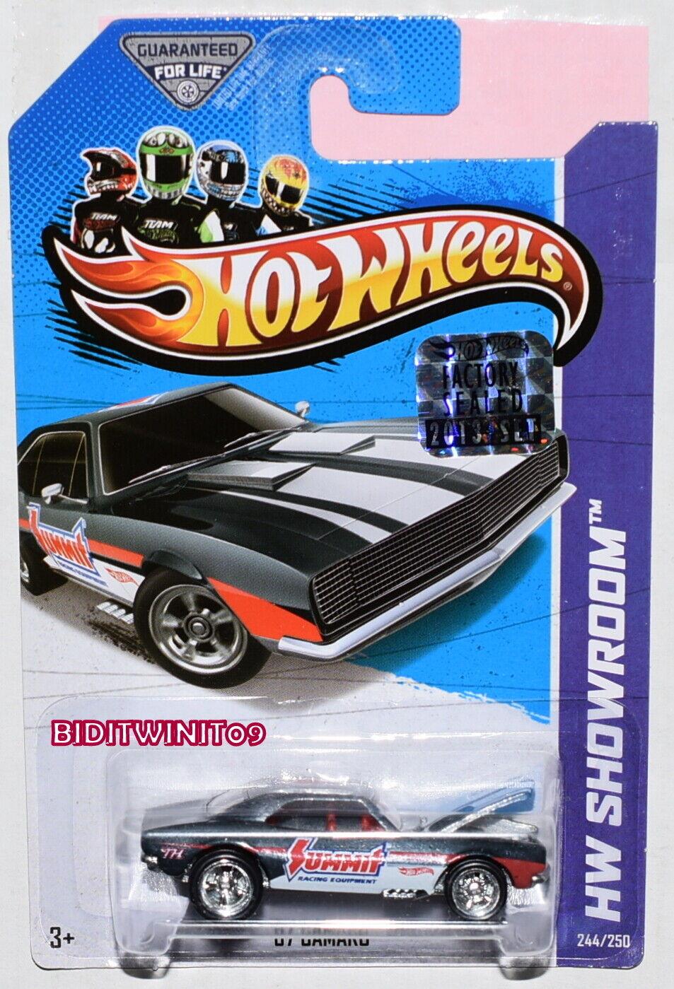 marcas en línea venta barata Hot Hot Hot Wheels 2013 Hw Sala de Exhibición Súper Treasure Hunt ' 67 Camaro Precinto  minoristas en línea