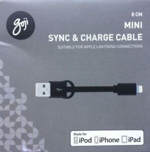 Goji-GSLNBK-17-C-8-cm-Mini-Lightning-Sync-amp-Charge-Cable-Noir