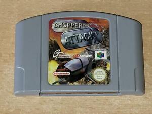 Chopper Attack N64 Nintendo 64 Reino Unido PAL (solo carro) ** GRATIS UK FRANQUEO **