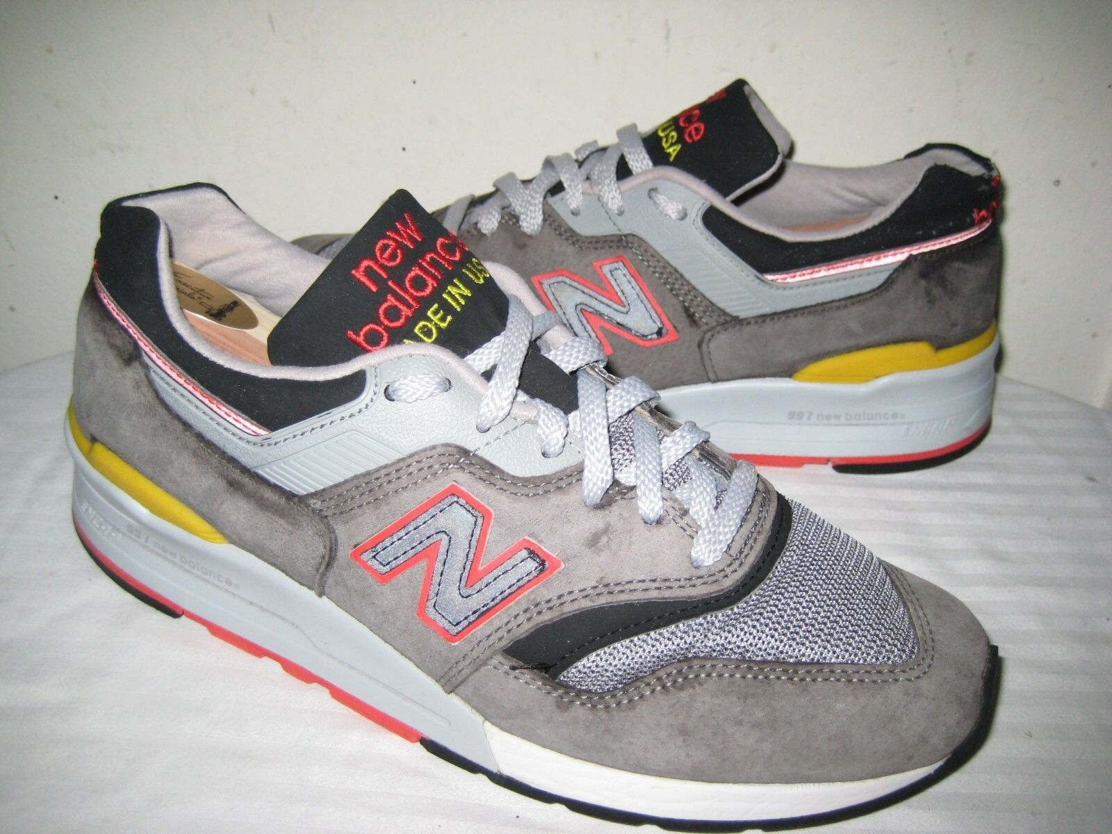 New Balance M997HL Catcher In The Rye Mens schuhe Größe 42   8.5 D MADE IN USA.