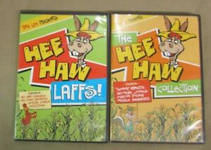 Lot-of-2-HEE-HAW-DVDs-HEE-HAW-COLLECTION-LAFFS