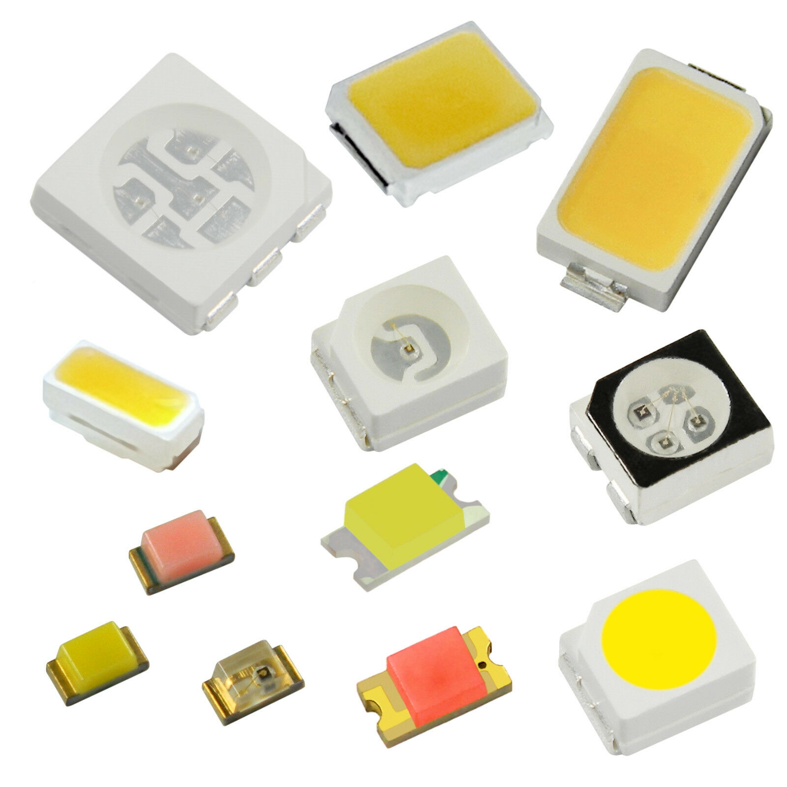 LED SMD VARI TIPI/LED SMDs MINI Diodo Lok Illuminazione Modellismo