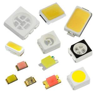 SMD-LED-diferentes-tipos-LED-inauguraba-mini-diodo-emisor-Lok-iluminacion-modellbau