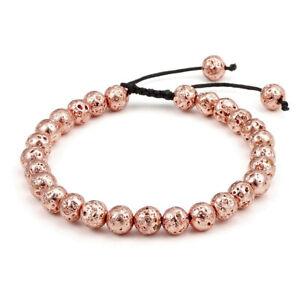 Handmade-Natural-Gemstone-Bead-Healing-Power-Adjustable-Tassels-Bracelet-YHSL4