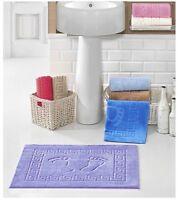 Bath Mat Non - Anti Slip,Soft,Happy Feet Design,Made in Turkey