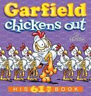 Garfield: Garfield Chickens Out : His 61st Book 61 by Jim Davis (2016, Paperback)