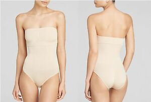 624493dd8b Image is loading Wacoal-B-Smooth-Strapless-Bodysuit-836375-Naturally-Nude-
