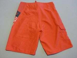 Boys Rip Relaxed Fit Rrp Boardshorts Firey 70 Nwot Curl 14 Red Sze 066 pdwqTp