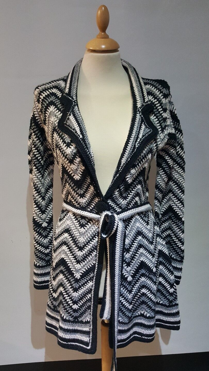Monsoon collection hand crafted cardigan rrp