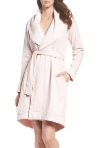1ecdd39129 UGG Brand Women s Blanche Seashell Pink Plush Bathrobe Spa Robe ...