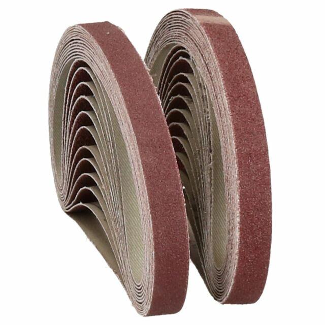 20pcs 140x100mm Disque Abrasif Tampon Abrasif 80 Grain 5 Trou Papier Verre