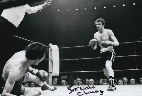 Charlie Magri Hand Signed Boxing 12x8 Photo 1.