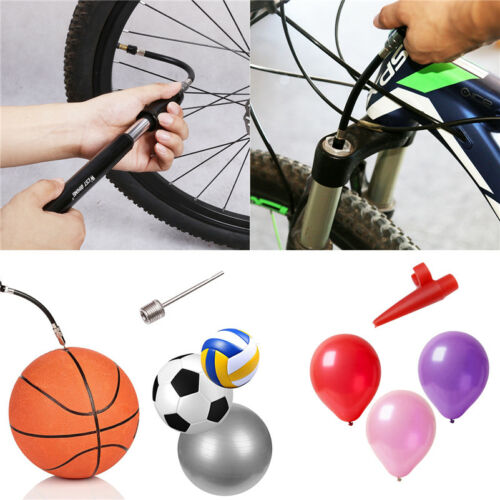 Bicycle Air Inflator High Pressure Cycling Tire Pump Tyre Bike Mtb Mini Portable