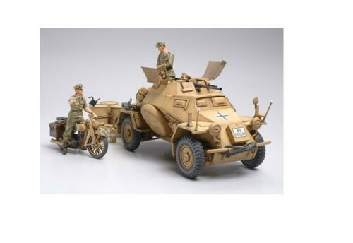 Nordafrika Tamiya 35286-1//35 Sd.Kfz 222 Spähpanzer Neu