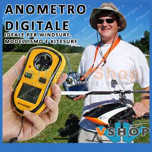 ANEMOMETRO-DIGITALE-MODELLISMO-KITE-WIND-SURF-TERMOMETRO-MISURA-VELOCITA-039-VENTO