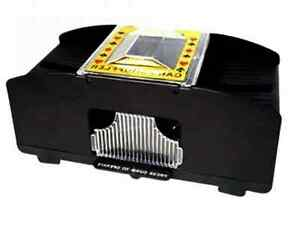 Kartenmischgeraet-Kartenmischmaschine-Poker-2-Decks-Kartenmischer-Karten-Mischer