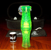 Zink Calls Cod Call Of Death Goose Call+case+band+dvd Interference Green