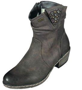 Schuhe 26 Tex Art Neu Damen 93782 Stiefelette Rieker d6pnwqvOq