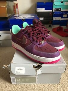 save off cdb35 6e2f7 Image is loading Nike-Air-Force-1-Low-Cherrywood-Red-Pink-
