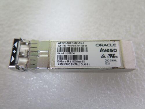 10Gb 10Gbe SR 850nm Sun Oracle 530-4449-001 X2129A-N Avago AFBR-709SDMZ-SN1 SFP