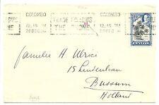 NEDERLAND-CEYLON  S.M.N.  1934  SPEC CV  = S.S.JOHAN DE WITT= VF
