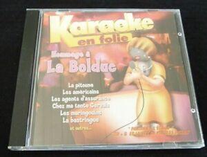 CD-G-Karaoke-en-Folie-Hommage-a-La-Bolduc-10-Songs