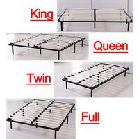 Bedroom Metal Platform Bed Frame Twin Full Queen King Size Home Furniture