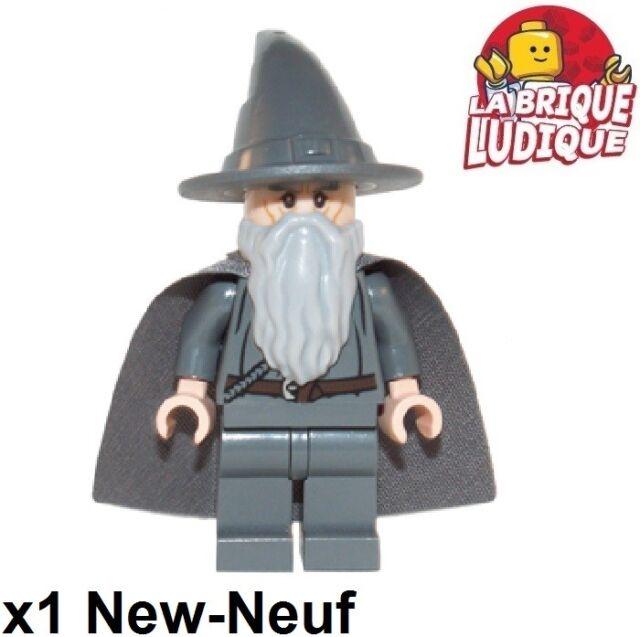 Lego Figurine Minifig LOTR seigneur des anneaux Gandalf gris dim001 71200 NEUF