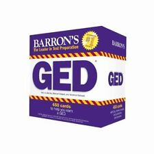 Barron's GED Test : 450 Flash Cards to Help You Achieve a Higher Score by Veronica Vazquez and Kelly A. Battles (2015, Kit, Revised)