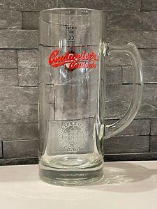 Budweiser-Budvar-Pint-Glass-Stein-Handle-CE-Marked-Each