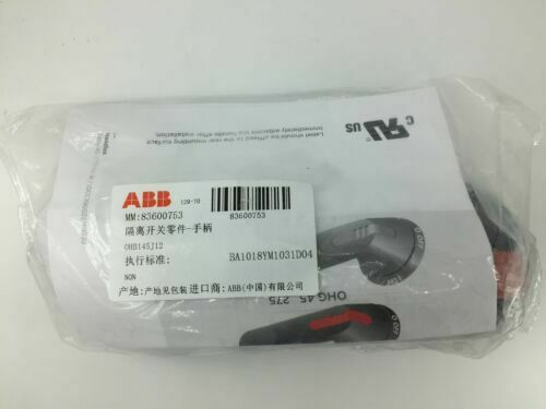 1PC Brand New ABB OHB145J12 Handle Disconnect Switch 145MM Black Free shipping