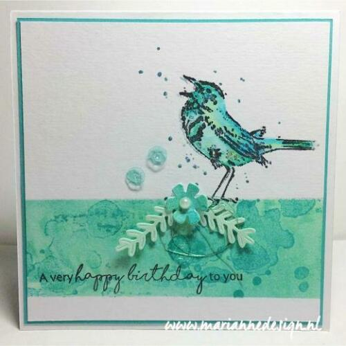 Marianne Design Cling Rubber Layering Stamps Tiny/'s Birds 2 MM1619