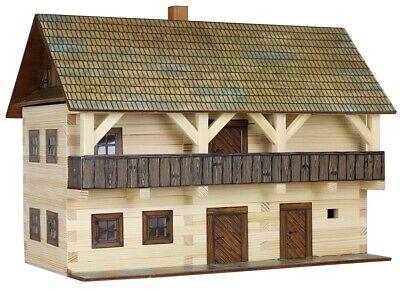 "Modellbau-Set /""Vogtei/"" W05 Walachia Holzbausatz Holzbausteine Modellbau 1:32 Kit"