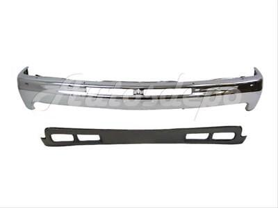 2000-2004 Tahoe GM1092167 15005294 New Front Lower Valance Air Deflector Primed with Fog Light and Tow Hook Holes For 1999-2002 Chevrolet Silverado LS//LT Standard /& Extended Cab Pickup
