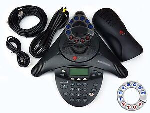 Polycom-Soundstation-2-Conference-Phone-Inc-Warranty-Free-P-amp-P