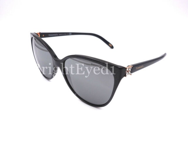 50f1d52d457ac Authentic TIFFANY   CO. Victoria Cat Eye Grey Sunglasses TF 4089B - 82116G   NEW