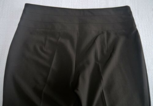 Womens Tailored cr Short Trousers Size 10 14 16 18 20 Leg 25.5L New Ladies Brown