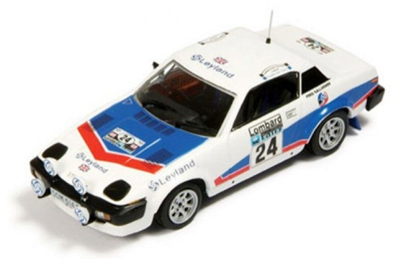 1/43 TRIUMPH TR7 V8 LEYLAND Lombard RAC Rally 1977 T. Pond/F. Gallagher