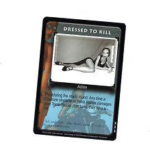 Tomb Raider CCG card game Lara Croft Dressed to Kill Promotional Promo Rare 222