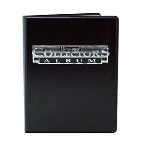 Ultra-Pro-Black-4-Pocket-Collectors-Portfolio-Trading-Card-Album-YuGiOh-Pokemon