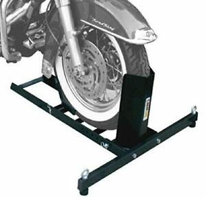 MaxxHaul 70271 Adjustable Motorcycle Wheel Chock Stand Heavy Duty 1800lb Weight