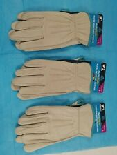 Wells Lamont Rn32190 Womens Large Leather Gloves Lot Of 3