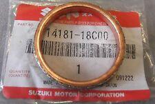 Genuine Suzuki LT-A400 LT-A450 LT-F500 Exhaust Flange Gasket 14181-18C00