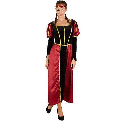 Castello signorina Costume Donna medioevo castello vestito DAMA DAMA CARNEVALE K