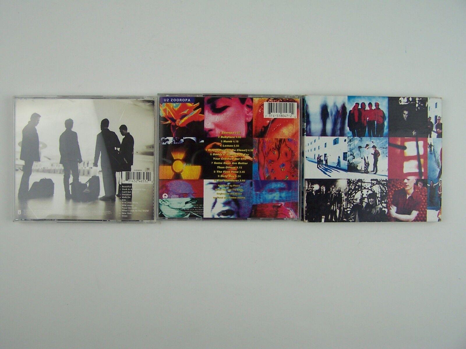 U2 3xCD Lot #5
