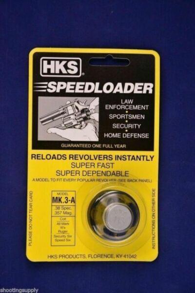 HKS Speedloader NEW;  25-5;  6-Shot;  45 Long Colt;  3 Pack;  Fast /& Dependable