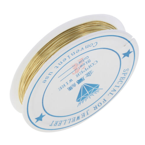 Soft Flex 1 Roll Copper Wire Beading String Thread for DIY Jewelry Design