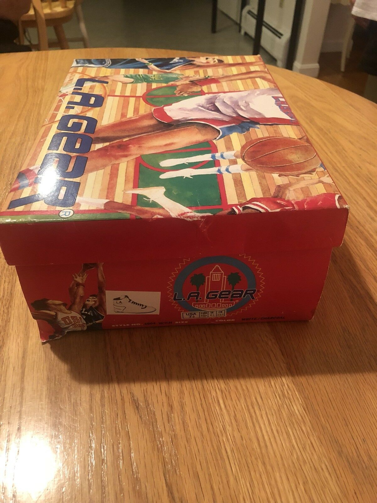 VINTAGE LA GEAR SHOEBOX STYLE STYLE SHOEBOX 4004 RARE SNEAKERS COLLECTIBLE GREAT SHAPE!! 3bdf2c